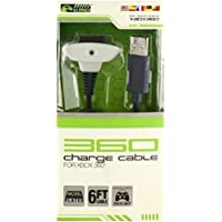 KMD Charge Cable: White for Xbox 360 - Standard Edition