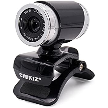 Amazon.com: Cimkiz A860 webcam,USB 2.0 Web cam, PC Cam with MIC ...
