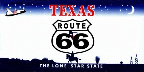 LP-2109 ROUTE 66 Texas Novelty State Background Vanity Metal License Plate Tag 5nytoNtn Sign licence lisence license plate metal car sign yutio67 ghj90 6