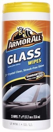 Armor All Glass Wipes 6 Units Pack