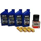 YAMAHA SVHO 1.8L WaveRunner Oil Change Kit w/Filter FX-SVHO FZR-SVHO FZS-SVHO GP1800 GP1800R 69J-13440-03-00 NGK Spark Plugs