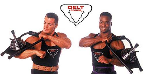 Delt Force Deltoid Shoulder Muscle Builder Weightlifting Exercise Equipment by Delt Force