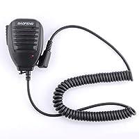 Baofeng Original Handheld Speaker Two Way Radio Speaker Microphone with Red Light UV 5R 5RA 5RE 5R Plus