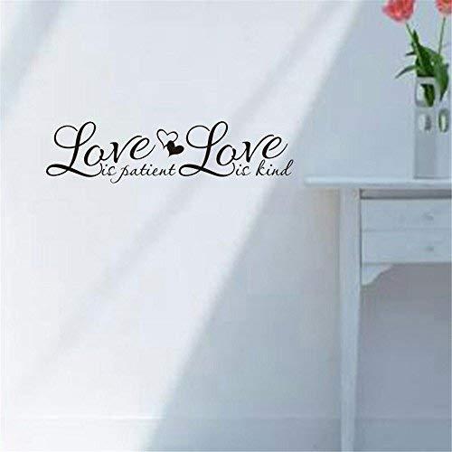Assyrian Love Quote Sticker Decoracion Hogar Wall Stickers Home Decor Living Room Diy Family Muraux Papel De - Wall -