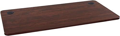 Sunon Rectangle Laminate Table Top Universal Wood Table Top for Home Office Desk Sit Stand Desk Computer Desk Gaming Desk Only Table Top, Cherry