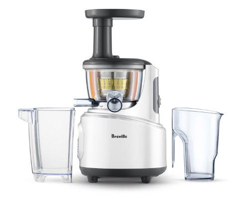 Slow Juicer Eller Blender : Breville BJS600XL Fountain Crush Masticating Slow Juicer