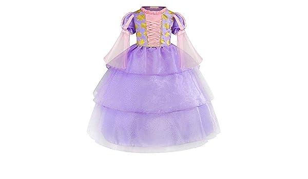 Disfraz de la Princesa Rapunzel Deluxe para niña Sofia ...