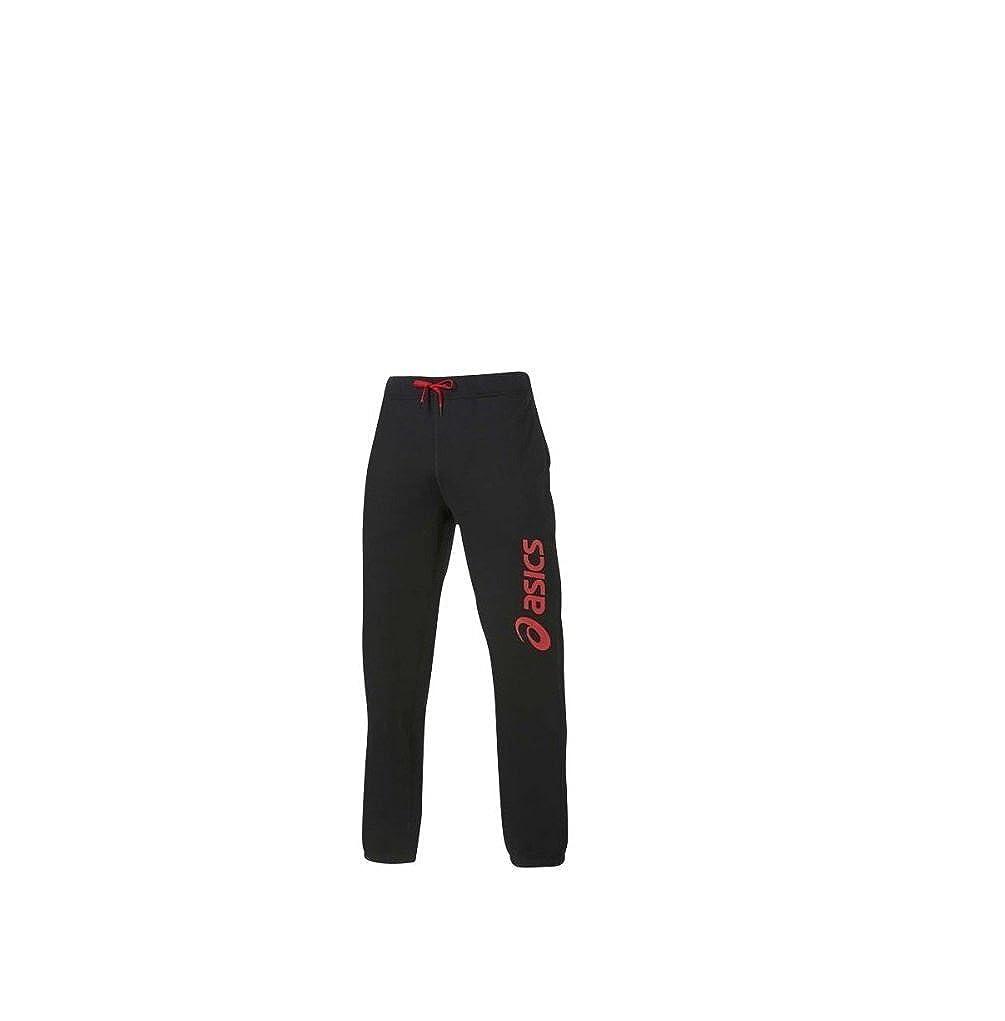 Asics - Pantalones de chándal - Pantalón Logo, Negro (Negro ...