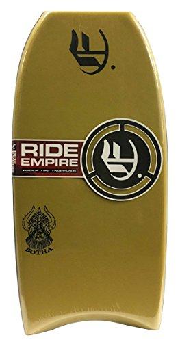 Empire Bodyboards Mini Botha PE Bodyboard, 32″, Mustard