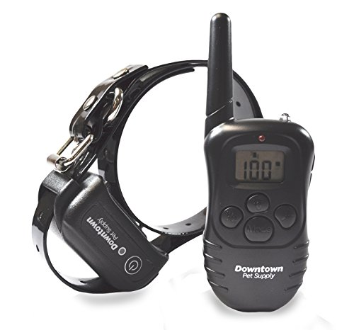 Rechargeable-Remote-Control-Dog-Training-Collar-with-Vibration-Shock-Tone-Waterproof-Submersible-Safe-Behavior-No-Jump-No-Bark-Sport-Obedience-900-feet-Downtown-Pet-Supply