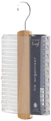 H & L Russell 20 Bar Superior Quality Tie Hanger WS1114