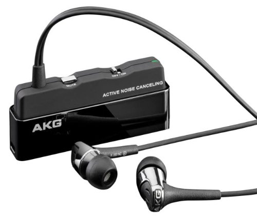 Akg K390nc Noise Cancelling In Ear Headphones With Inline