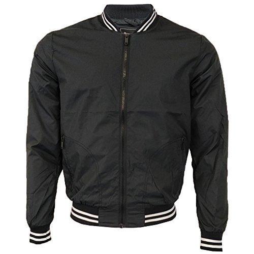 aa984cd7233e1d Brave Soul Sanjay Bomber Harrington Giacca Da Uomo Estive Leggere MA1  Cappotto: Amazon.it: Abbigliamento