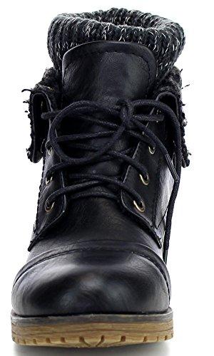Refresh Women's bootie,Wynne-01 Black 7
