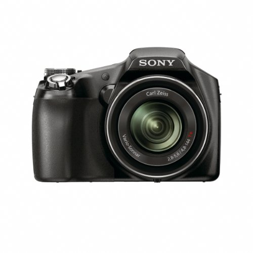Sony Cyber-Shot DSC-HX100V 16.2 MP Exmor R CMOS Digital Still Camera with Carl Zeiss Vario-Tessar 30x Optical Zoom Lens and Full HD 1080 Video by Sony