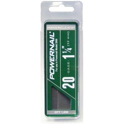 1-1/4 in. 20-Gauge Hardwood Flooring Cleat (1000-Pack)