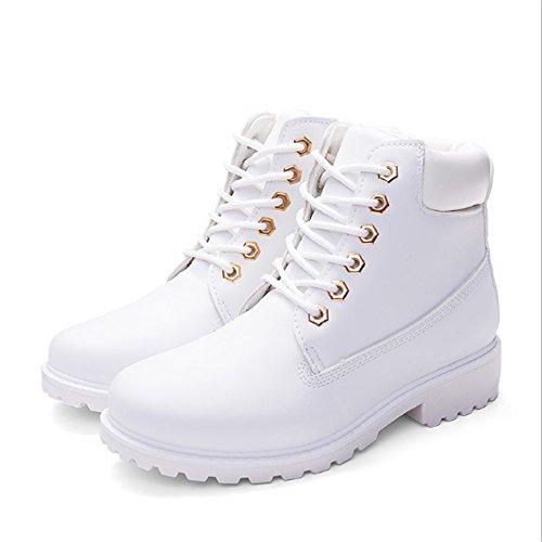 Femme Blanc RUCAS blanc pour Bottes J t6awYt
