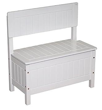 bas prix a5330 15ed8 roba Banc coffre, laqué en blanc, meuble pour enfants pour s ...