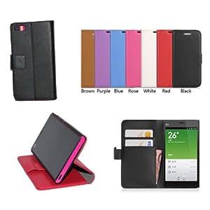 For Xiaomi M3 Case, Luxury Book Style Cover Folio Leather Case For Xiaomi 3 M3 Mi3, 1pcs/lot