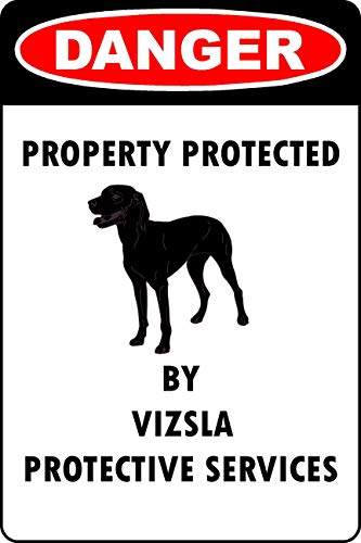 Vizsla Lover Parking Only Vinyl Sticker Decal 8