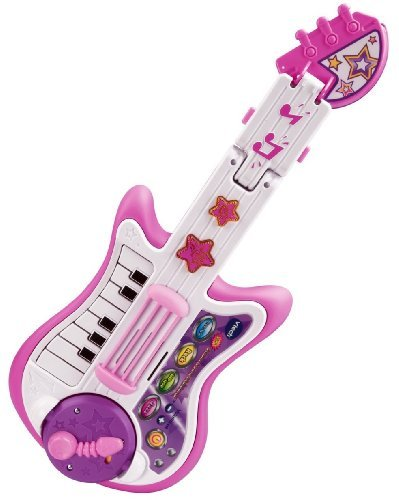 VTech Strum and Jam KidiBand Musical Band Guitar - pink exclusive