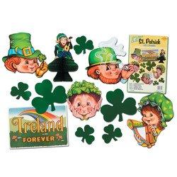 St Patrick Decorama Party Accessory (1 count) (12/Pkg) ()