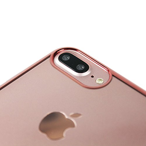 Hamburger SV Pro Case - Mittelstürmer - iPhone 8 Plus, iPhone 7 Plus und iPhone 6 Plus Hülle Rosegold