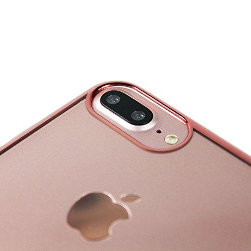 Werder Bremen Pro Case -Mittelstürmer - iPhone 8 Plus, iPhone 7 Plus und iPhone 6 Plus Hülle Rosegold