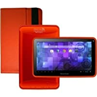Visual Land Prestige 7G ME7G8TC-ROR 7-Inch 8 GB Tablet (Red Orange)