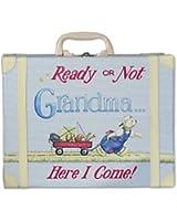 Child to Cherish Going To Grandma's Suitcase in Blue
