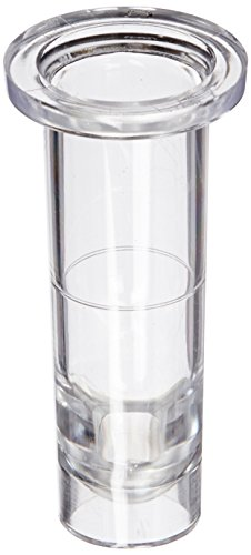 Globe Scientific 5504 Polystyrene Nesting Sample Cups, 13mm Dia, 30mm Height, 1ml Capacity (Pack of 1000)