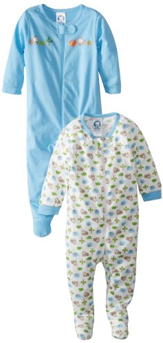 Gerber Baby-Boys' Newborn Gorilla Sleep 'N' Play Two-Pack