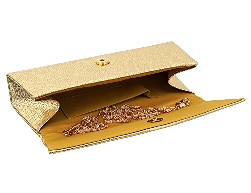 Clutch Bag Women Wedding Handbag for Envelope Evening Elegant Shoulder Party Gold Candice Bag 1 Bag zpqd4Eqw