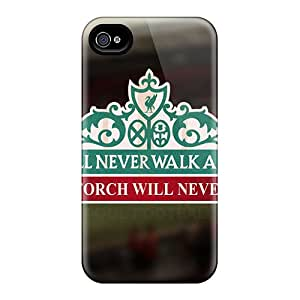 Michlles SUj342xPSD Case For Iphone 4/4s With Nice Famous Football Club England Liverpool Appearance