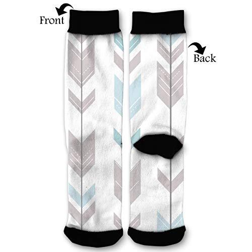 HAIDILUN Printable Art Arrows Casual Anti Slip Crew Socks Novelty Ankle Socks for Women Men]()