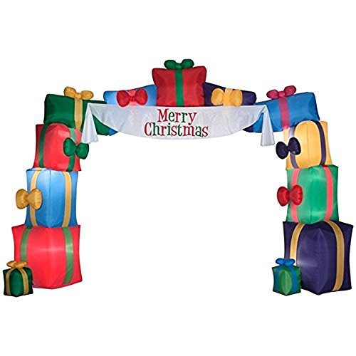 Gemmy I2ft Inflatable Airblow Holiday Christmas Presents ...