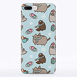 GoodMoodCases Carcasa rígida para iPhone, diseño de Gatos de Invierno, iPhone 4 / 4s, Frosty Cat Snowflakes