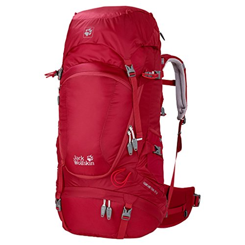 Jack Wolfskin Women's Highland Trail Xt 45 Backpack, Indian Red, 49 L by Jack Wolfskin