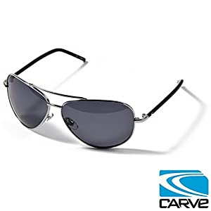 Carve Top Dog Polarised Sunglasses - Silver