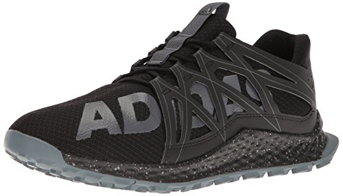 adidas Men's Vigor Bounce m Trail Runner, Black/Onix/Grey, 11.5 M US by adidas