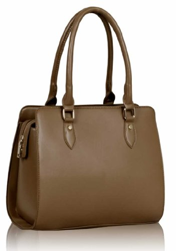 Handbags Tote 2 Nude Faux Shoulder Design Leather Ladies Sale Designer Bags New Womens Large 4Sdzwaqw