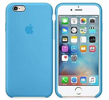 CABLEPELADO Funda Silicona iPhone 7/8 con Logo Color Azul