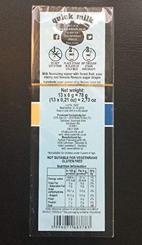 39 Wizard Quick Milk Straws Dr Moo Magic Straws 3 x 13 Pack 39 Straws Exclusive !