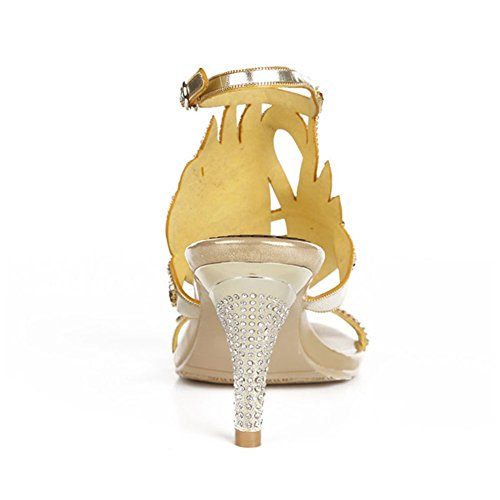 Las Size Alto Con Xie Crystal Sandalias Imitación Code Aguja Del Diamantes Zapatos Tacón Sexy De Mujeres Verano Shoes wqqYvxat