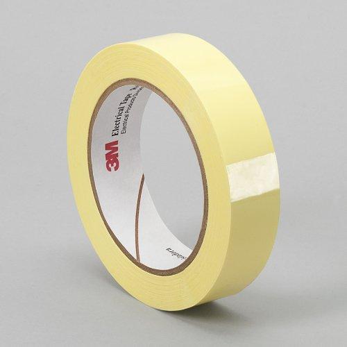 1 roll TapeCase 3M 1350F-1Y 12 x 72YD 12 width x 72yd length 1 roll 12 width x 72yd length 3M 1350F-1Y Yellow Electrical Tape