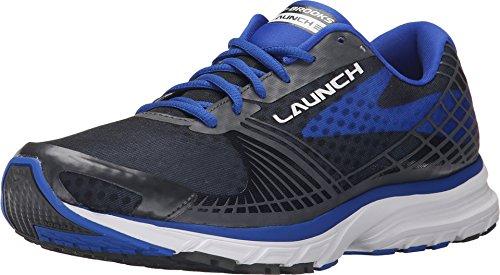 Brooks Men's Launch 3 Electric Brooks Blue/Lime Punch/Black Sneaker 12 D (M)
