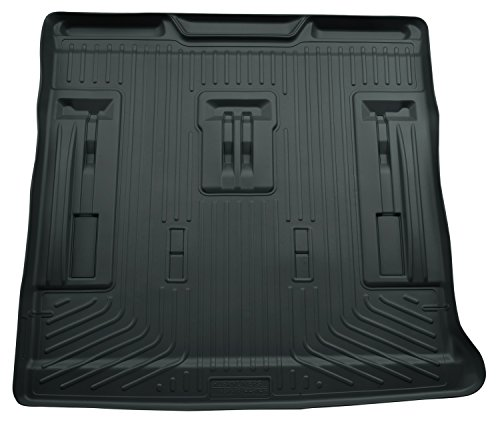 Husky Liners Cargo Liner Fits 07-14 Escalade/Tahoe/Yukon w/ 3rd row seat (Third Tahoe Seats Row)
