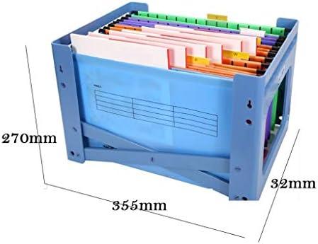 Xuejuanshop Bandeja para Cartas Archivador Material de Oficina Caja de Almacenamiento de Archivos de plástico PP para Colgar en Formato A4. Archivador Organizador: Amazon.es: Hogar