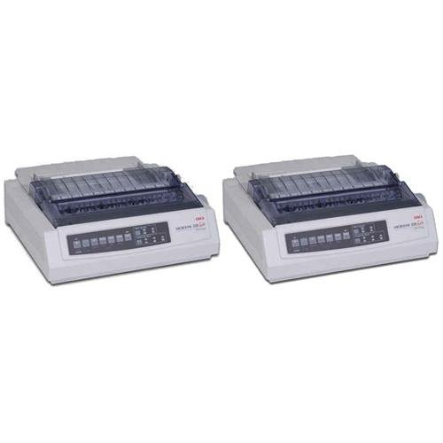 OKI Data 2x Microline 320T, 9-Pin Turbo Dot Matrix Impact Printer, for All Invoice Printing Needs ()