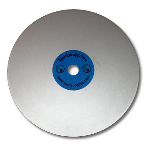 6 inch Grit 3000 Quality Electroplated Diamond coated Flat Lap Disk wheel
